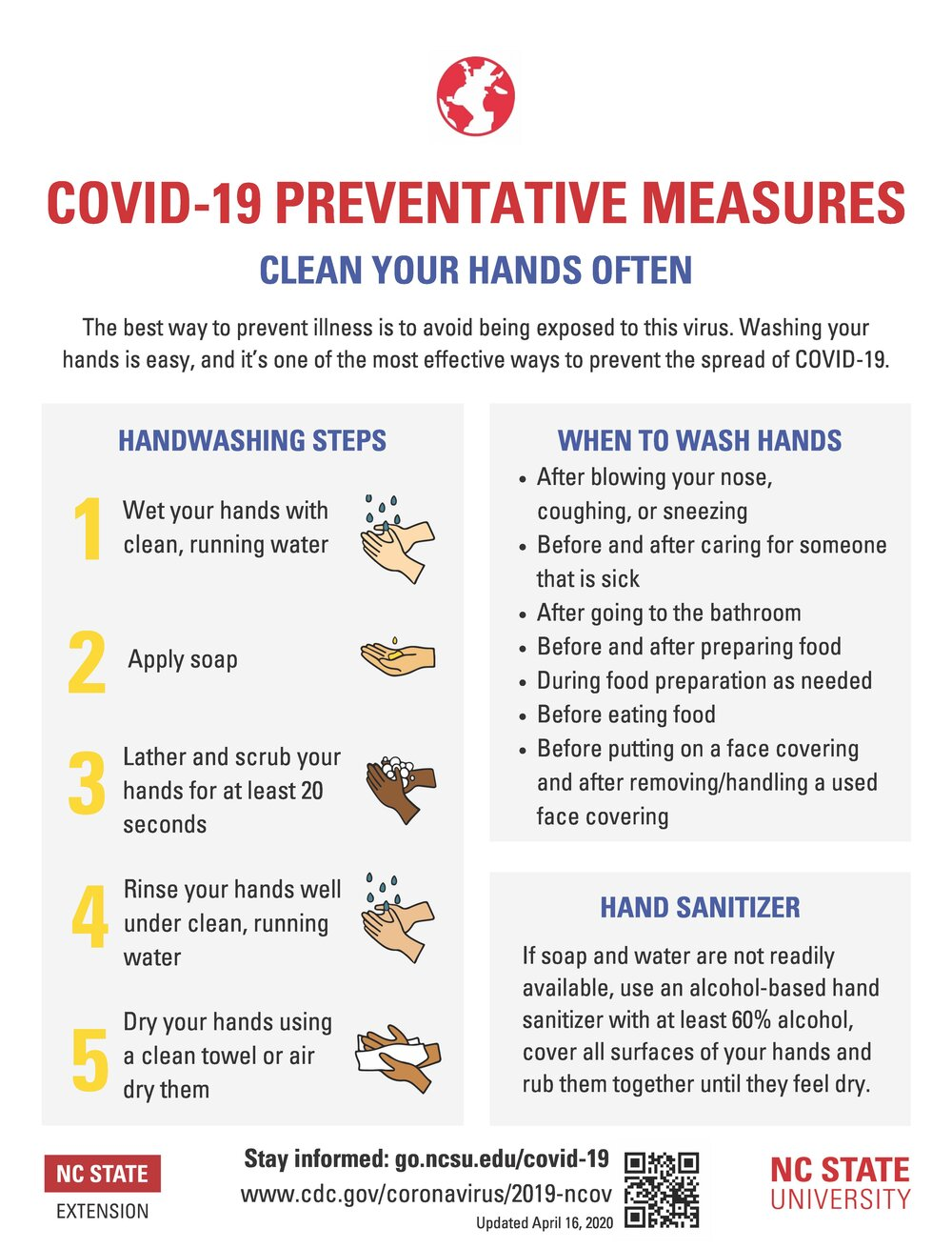 COVID-19 Handwashing by NC Extension